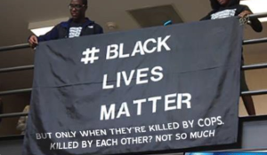 Black Lives Matter but only when theyre killed by cops 12-14-14