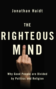 Jonathan Haidt The Righteous Mind British Cover 12-17-14